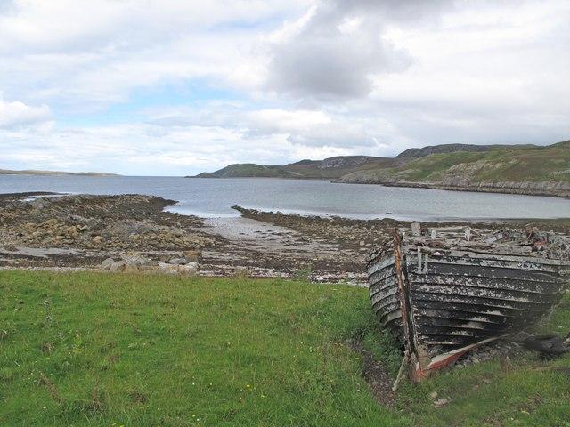 Inbhirean, a harbour at Loch Eriboll
