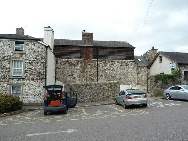 Ashburton - old woollen mill building