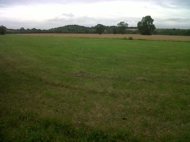 Large field near Rutland Water