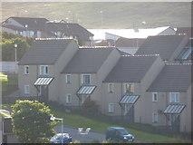 HU4642 : Lerwick: houses in Holmsgarth by Chris Downer