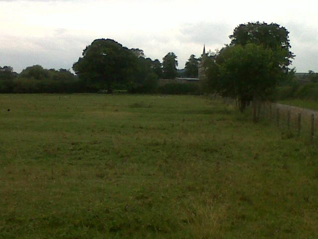 Field north of Egleton village