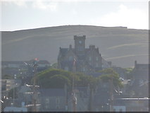 HU4741 : Lerwick: the Town Hall from Bressay Sound by Chris Downer