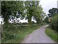 TM2253 : The entrance to Mount  Pleasant Farm & access to the footpaths by Adrian Cable