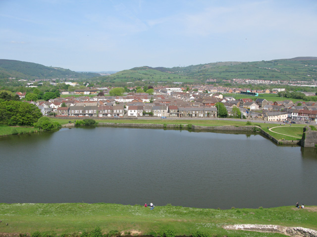 North Lake from the castle walls
