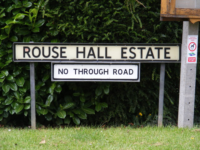 Rouse Hall Road sign