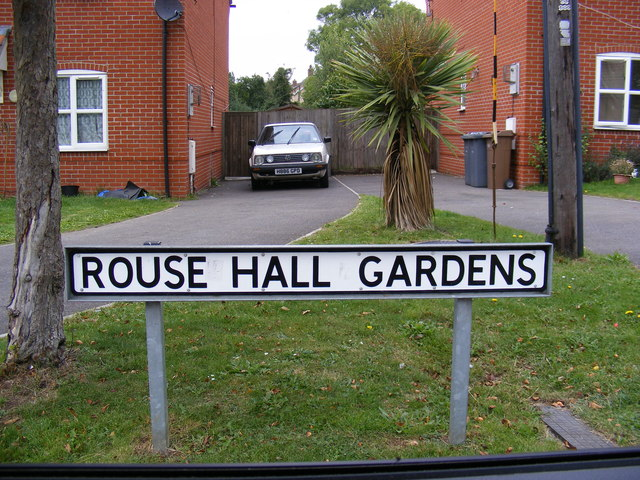 Rouse Hall Gardens sign