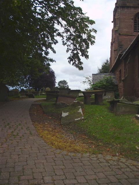 Path to St Michael's Church, Shotwick