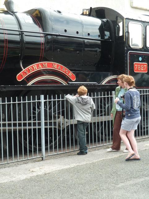 Ooh look - a steam train!