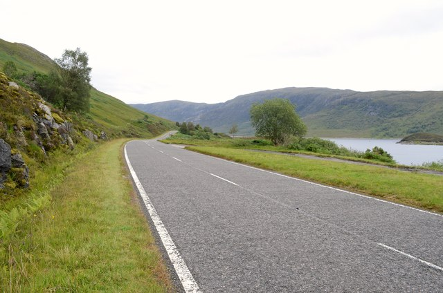 A87 near Loch Cluanie (1)