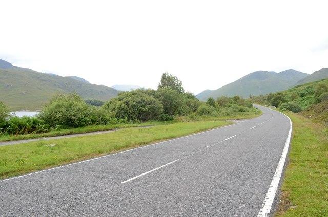 A87 near Loch Cluanie (2)
