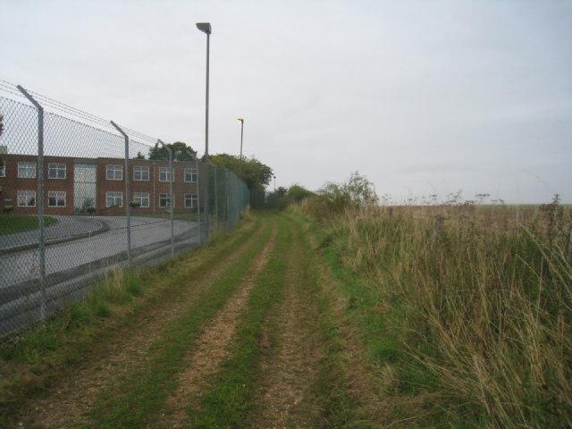 Passing Overton Mill