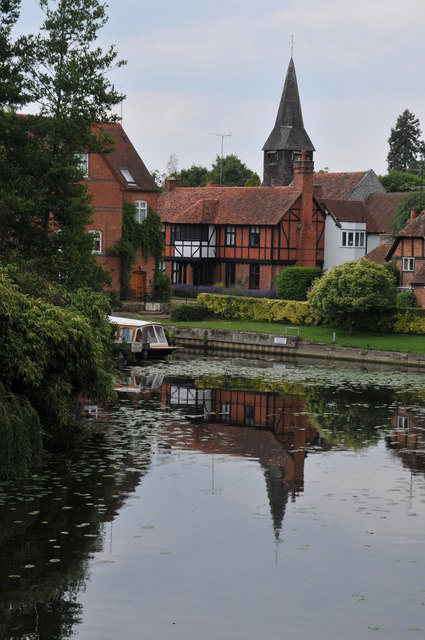 The Thames at Whitchurch-on-Thames