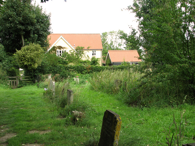Cottage by the churchyard, Middleton