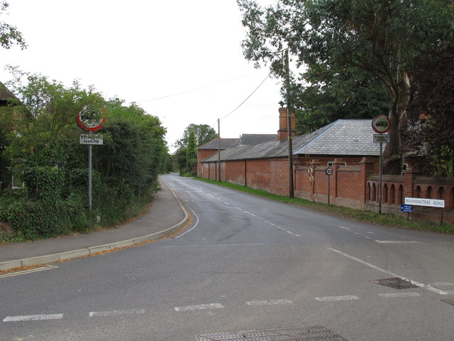 Manningtree Road junction with Brook Street