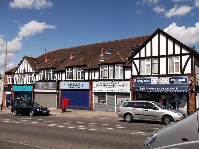 Shops on White Horse Hill
