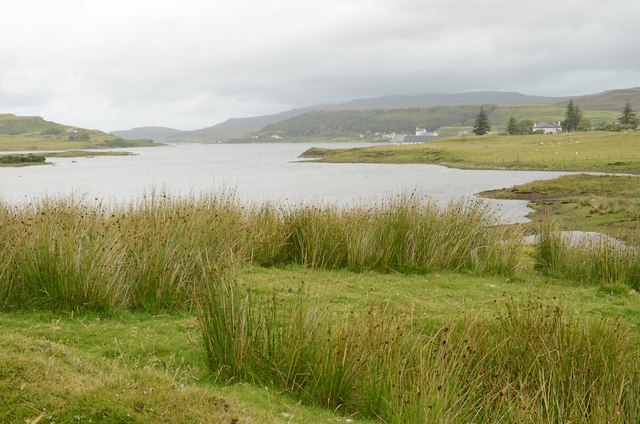 The head of Loch Dunvegan