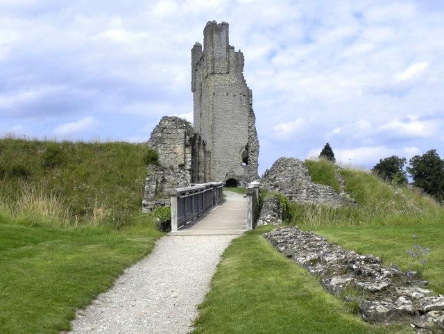 Helmsley Castle South Gate