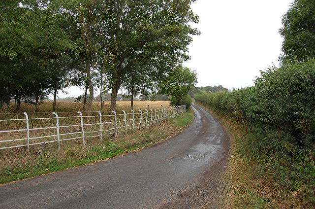 Lane towards Woolhope