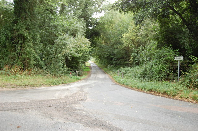 Lane to Checkley