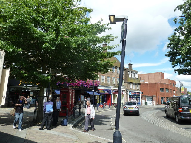 August 2011 in Crawley's historic High Street (m)