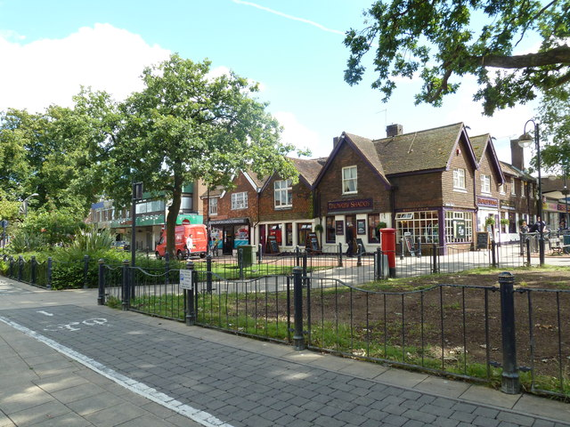 August 2011 in Crawley's historic High Street (q)