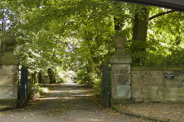 Entrance to Colthurst Hall