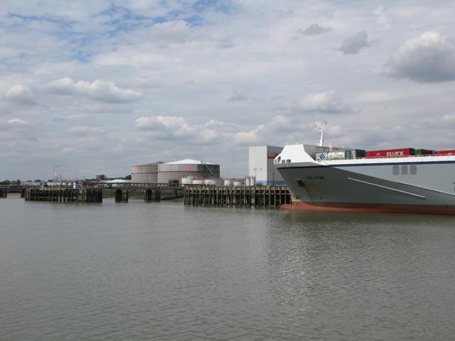 The Esso petroleum storage terminal, Purfleet