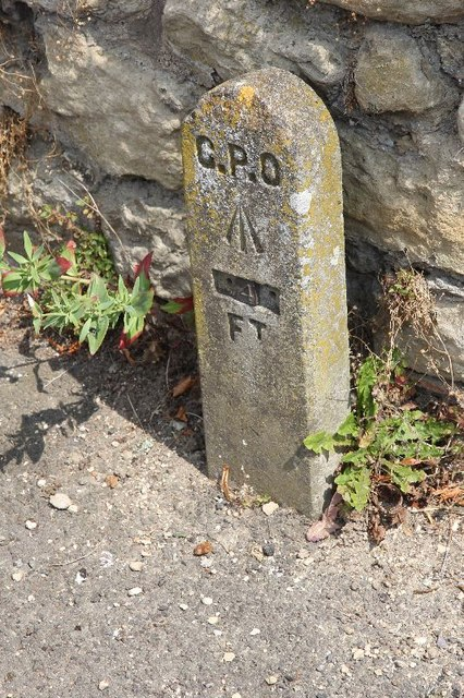Marker on Haseley  road