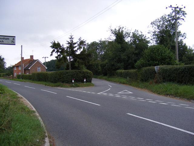 B1079 Grundisburgh Road & Market Hill