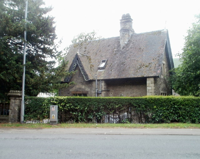 Grade II listed Nevill Hall Lodge, Abergavenny