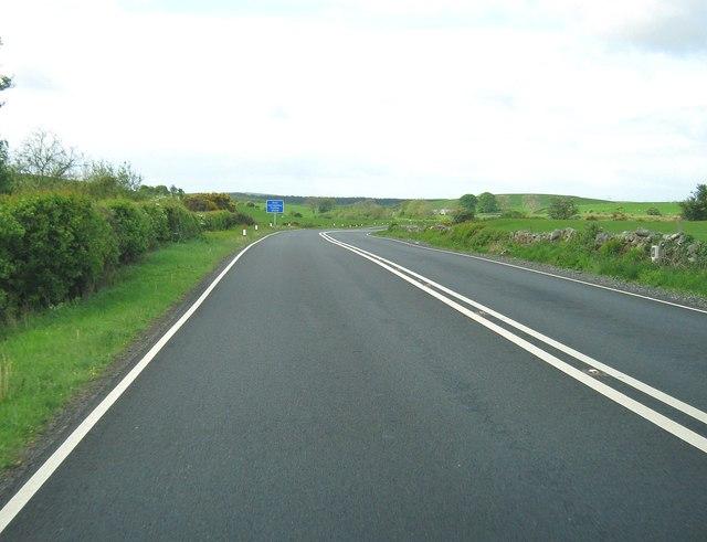 A75 near Barmore Moss