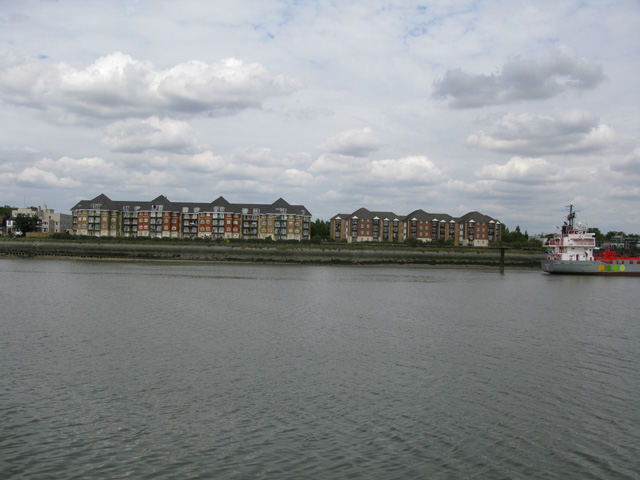 Harrisons Wharf at Purfleet