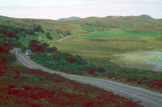 The road to Ardnamurchan Point