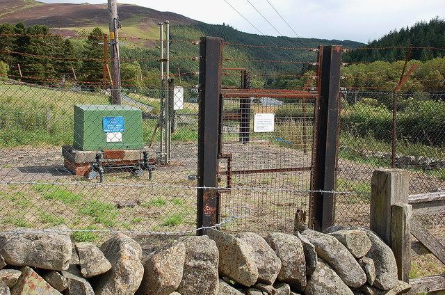Gas installation, Caddonfoot
