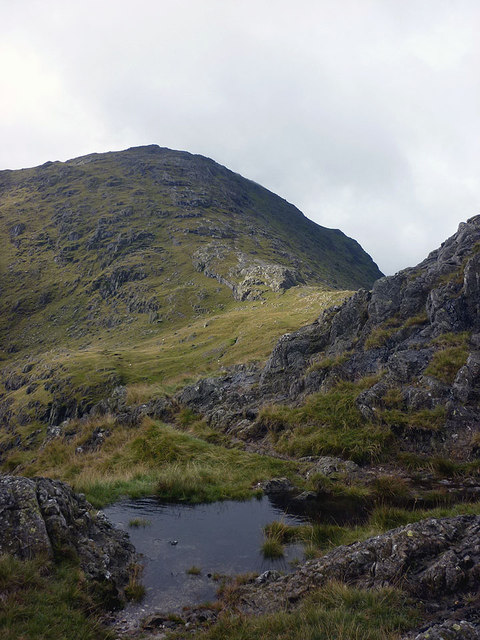 A small pool on Birk Fell