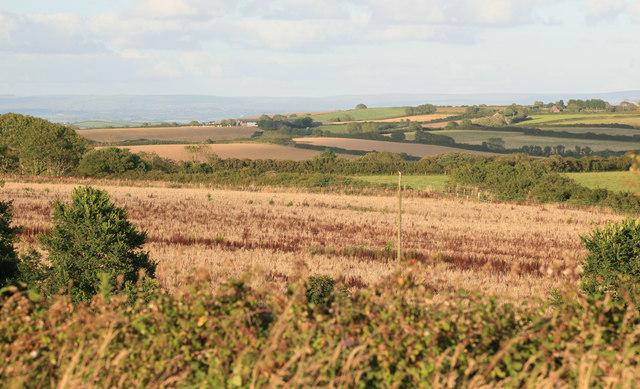 Rural East Cornwall from nr Penhale farm