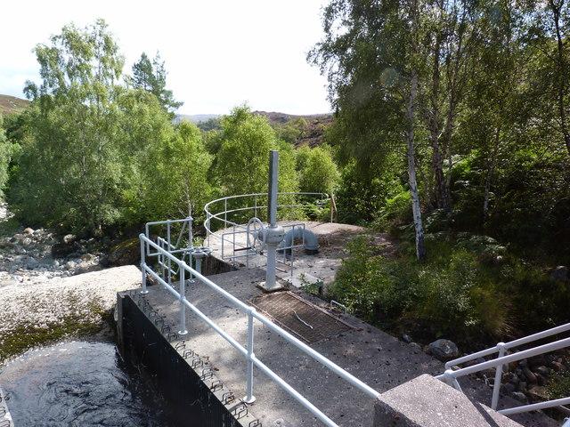 Water impoundment on Neaty Burn