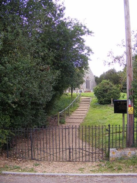 The Gates & Path to St.Botolph's Church, Burgh