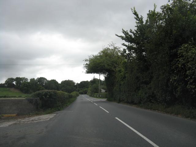 B4362 west of Mortimer's Cross