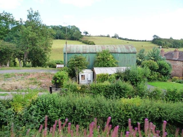 Big green shed, Brooksmouth Farm