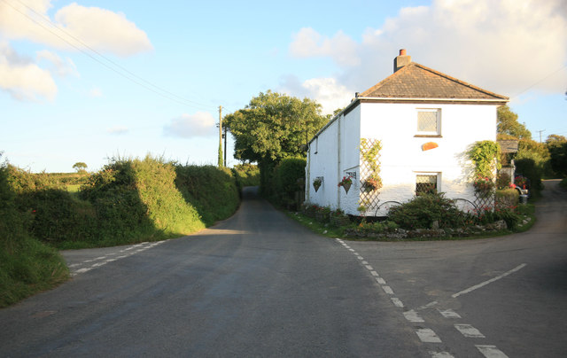 Cottage at the junction