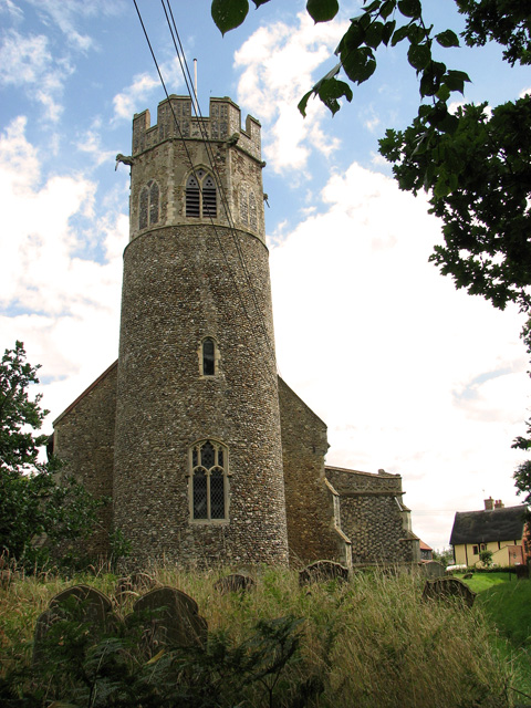 St Peter's church in Theberton
