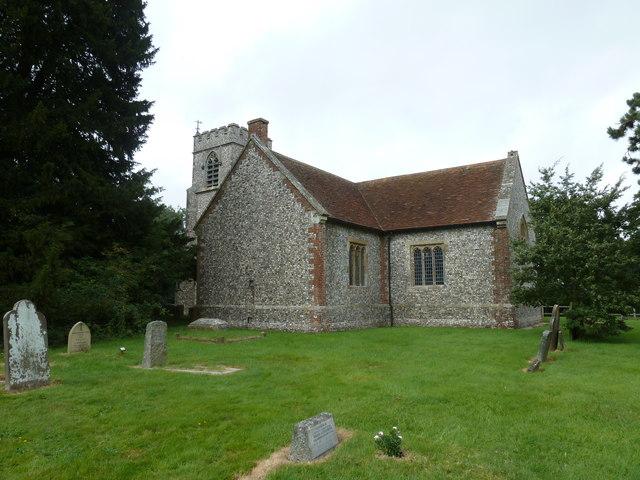 St Andrew, Farleigh Wallop: August 2011 (b)