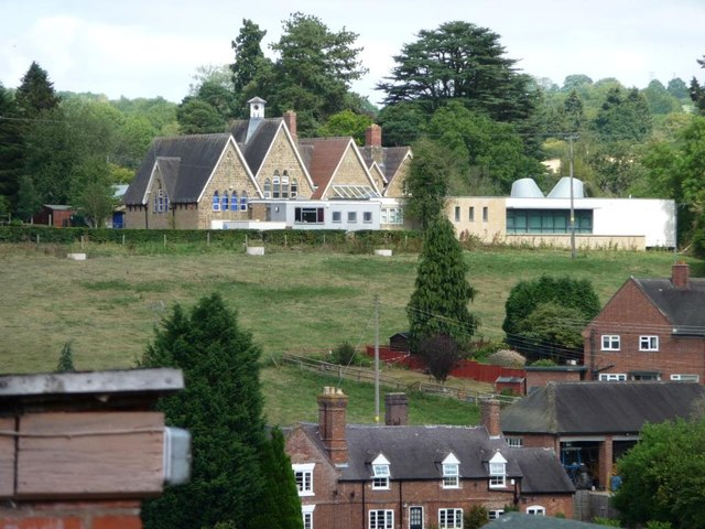 Arley School and its extension