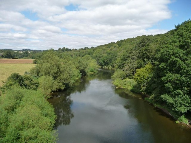 Eymore Wood and the River Severn