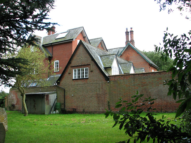 The old Rectory in Thorington