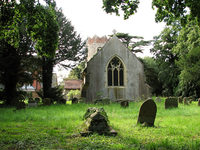 St Peter's church in Thorington
