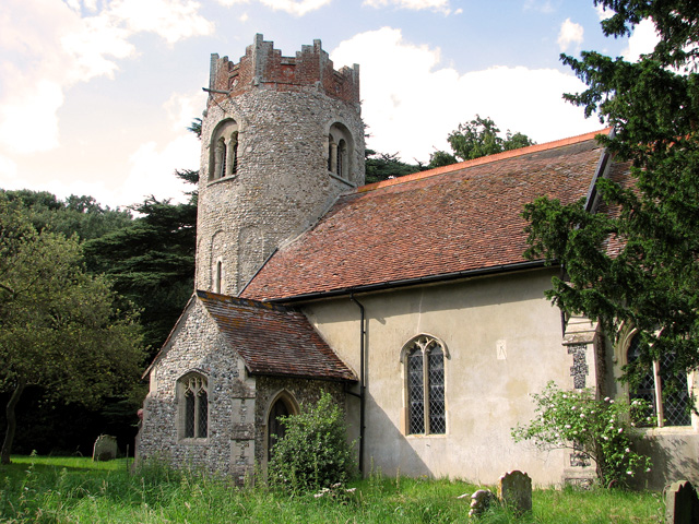 St Peter's church in Thorington