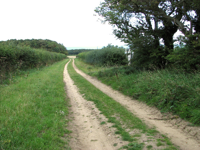 Track to Barn Drift, Cley