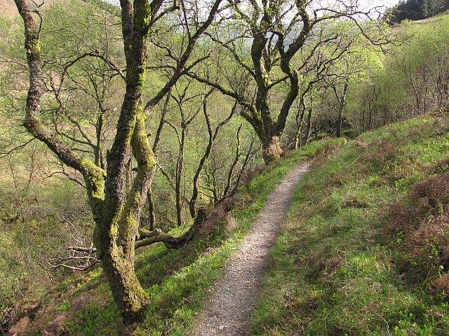 Ledard path to Ben Venue